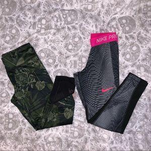 ✨Girls Nike and old navy athletic leggings